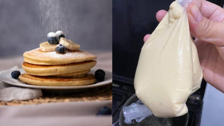 DIY Pancake Piping Bag