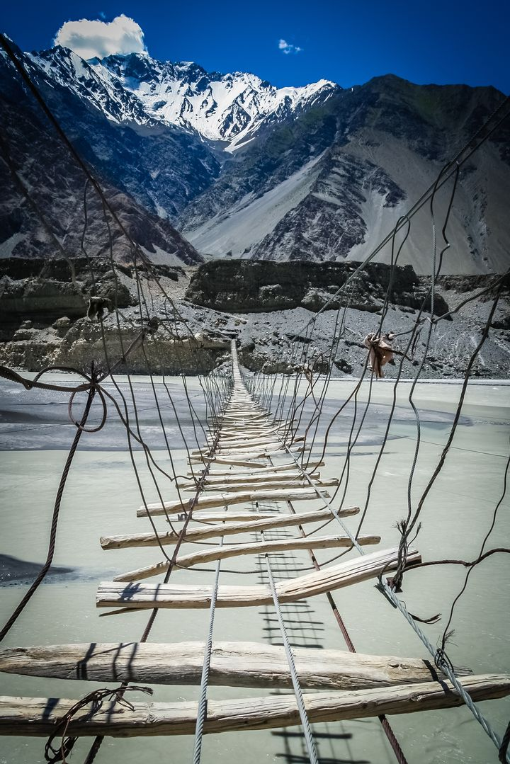 Hussaini Hanging Bridge (Pakistan)