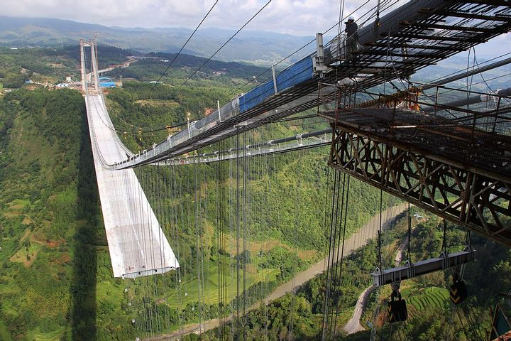 Longjiang Suspension Bridge (China)