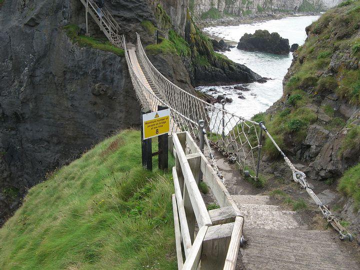 Carrick-a-Rede Rope Bridge (Northern Ireland)